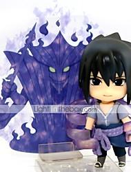 economico -Figure Anime Azione Ispirato da Naruto Sasuke Uchiha 10 CM Giocattoli di modello Bambola giocattolo