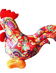 cheap -Stuffed Toys Toys Chicken Animals Cartoon Animal Shape Animal Holiday Chicken & Chick New Year's Large Size Holiday Fashion Animal Girls 1