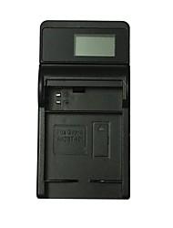 ismartdigi 401 lcd usb camera battery charger para batería gopro hero ahdbt-401 - negro