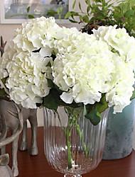 1 ブランチ シルク アジサイ テーブルトップフラワー 人工花