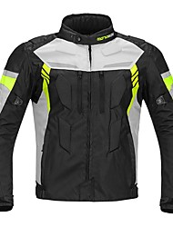 cheap -Men Motorcycle Protective Jacket Four Seasons Waterproof Winter Protector Gear For Motorsport