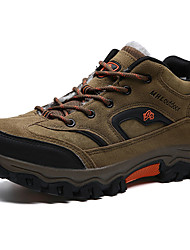 abordables -Homme Chaussures Printemps Automne Confort Chaussures d'Athlétisme Randonnée pour De plein air Gris Marron Vert