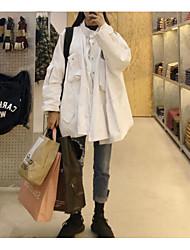 Women's Masquerade Daily Wear Boho Winter Trench coat,Solid Notch Lapel Long Sleeves Maxi Cotton