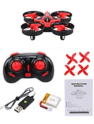 cheap -RC Drone NIHUI NH-010 4 Channel 6 Axis 2.4G With HD Camera 0.3MP RC Quadcopter One Key To Auto-Return / 360°Rolling RC Quadcopter / User