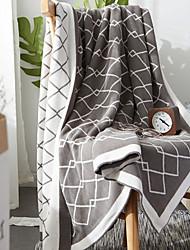 Недорогие -Диван Бросай, Клетчатый Полиэстер удобный одеяла