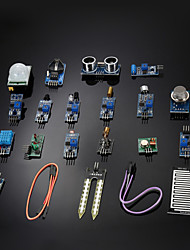 cheap -DIY 16 in 1 Sensor Module Kit for Raspberry Pi