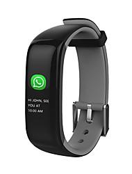 hhy nouveau smart bluetooth bracelet p1 plus la fréquence cardiaque tension artérielle sommeil surveillance sport bracelet android ios