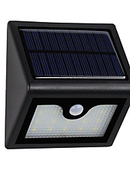 cheap -1PCS Super Bright 16leds Waterproof Solar Powered Light PIR Motion Sensor Outdoor Garden Patio Path Wall Mount Fence Security Lamp