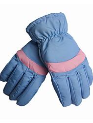 cheap -Ski Gloves Women's Full-finger Gloves Keep Warm Windproof Skidproof PU Leather Hiking Cycling / Bike Snow Sports Winter