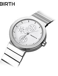 levne -REBIRTH Dámské Náramkové hodinky japonština Voděodolné Nerez Kapela Na běžné nošení / Módní / Elegantní Stříbro / Růžové zlato