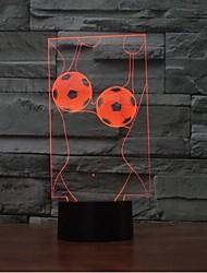 Art tactile gradation 3d led nuit lumière 7colorful décoration atmosphère lampe nouveauté éclairage lumière