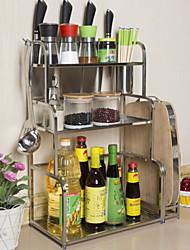 economico -1pcs Cucina Acciaio Inox Organizzatori Flatware