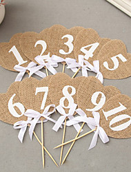 cheap -Linen/Cotton Blend Wedding Decorations
