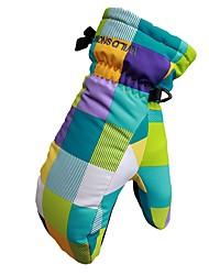 preiswerte -Skihandschuhe Kinder Vollfinger warm halten bedruckbares Polyester Skifahren Wandern Outdoor Übungen Radsport / Fahhrad Winter