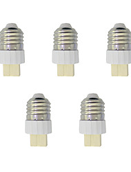 5Pcs E27 to G9 Quick Bulb Converter Bulb Accessory