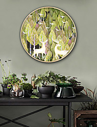 abordables -Animaux Botanique Illustration Art mural,PVC Matériel Avec Cadre For Décoration d'intérieur Cadre Art Salle de séjour Chambre à coucher