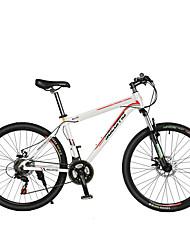 Racercykler Cykling 21 Trin 26 tommer (ca. 66cm)/700CC Shimano skivebremse Affjedringsgaffel Normal Aluminiumslegering Stållegering