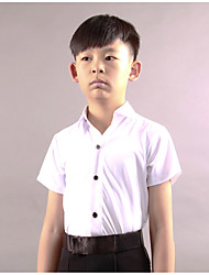 Latin Dance Tops Boys' Performance Spandex Short Sleeve Tops