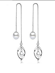 cheap -Women's Front Back Earrings / Ear Jacket - Pearl Sweet, Elegant Silver For Daily / Casual