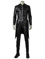 cheap -Super Heroes Cosplay Costume Costume Movie Cosplay Gray & Black Top Pants Boots Halloween Carnival Oktoberfest Masquerade leather
