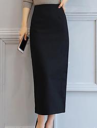 preiswerte -Damen Rock Röcke - Volltonfarbe, Grundlegend