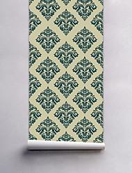 Floral Papel de Parede Para Casa Moderna Revestimento de paredes , PVC/Vinil Material Auto-adesivo papel de parede , Cobertura para