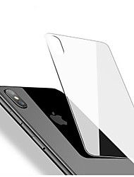 cheap -Screen Protector for Apple iPhone X Tempered Glass 1 pc Back Protector High Definition (HD) 9H Hardness 2.5D Curved edge Ultra Thin