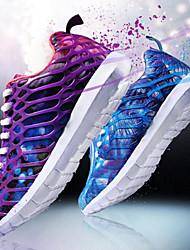 abordables -Femme Chaussures Grille respirante PUT Eté Automne Confort Semelles Légères Chaussures d'Athlétisme Course à Pied Talon Plat Bout rond