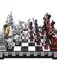 Building Blocks Chess Game Chess Block Minifigures Educational Toy Toys DIY Kids 1142 Pieces
