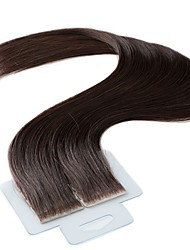cheap -Tape In Human Hair Extensions 20Pcs/Pack 2.5g/pc Medium Brown 20 inch
