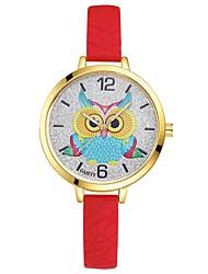 cheap -Women's Quartz Wrist Watch Chinese Large Dial Silica Gel Band Casual Elegant Cool Black White Blue Red Orange Brown Green Pink Purple