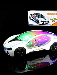 LED Lighting Race Car Toys Others Classic Theme Holiday Vehicles Birthday Lighting Motorised Electric New Design Kids Pieces