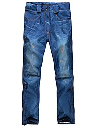 economico -Per donna Pantaloni da sci Caldo Ompermeabile Antivento Indossabile Traspirabilità Snowboard Sci Cotone Ecologico Poliestere