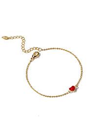 cheap -Women's Chain Bracelet - Korean, Fashion Bracelet Gold For Daily / Date