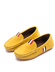 cheap -Boys' Shoes PU Spring Summer Comfort Light Up Shoes Sandals Hook & Loop LED For Casual Brown Gray Yellow Red