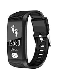 k10 wristband intelligente ecg monitor di frequenza cardiaca ip67 braccialetto idoneo senza fili di carica per Android ios phone