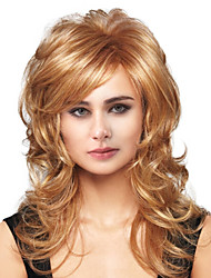 cheap -Human Hair Capless Wigs Human Hair Body Wave Side Part Long Machine Made Wig Women's