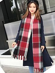 cheap -Women's Polyester Rectangle - Check