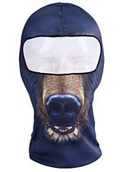 baratos -Máscaras de Esqui Todas as Estações Pavio Humido A Prova de Vento Á Prova-de-Pó Respirável Macio Equitação Moto Unisexo Poliéster Estampa
