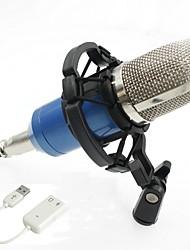 abordables -KEBTYVOR BM700 Câblé Microphone ensembles Microphone à Condensateur Professionnel Pour Polycarbonate