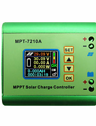 cheap -LCD MPPT 10A Solar Regulator Charge Controller for 24V 36V 48V 60V 72V Battery DC12-60V Max 600W Solar Panel DC-DC Step-Up Power