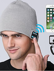 Ski Hat Ski Skull Cap Beanie Men's Women's Sound Control Bluetooth Thermal / Warm Windproof Wireless Bluetooth Snowboard Orlon Solid