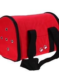 baratos -Gato Cachorro mochila Bolsa Strap Animais de Estimação Transportadores Caminhada Prova-de-Água Portátil Dobrável Flexível Sólido Pegada /