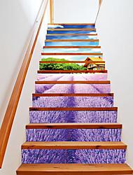 Недорогие -Цветочные мотивы/ботанический 3D Наклейки 3D наклейки Декоративные наклейки на стены, Винил Украшение дома Наклейка на стену Стена