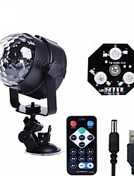 cheap -U'King LED Stage Light / Spot Light Sound-Activated Music-Activated 6 for For Home Club Wedding Stage Party Outdoor Portable
