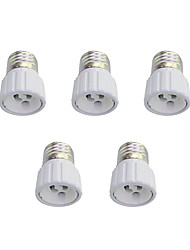 cheap -E27 to GU10 Quick Bulb Converter Bulb Accessory 5Pcs
