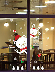 cheap -Christmas Wall Stickers Decals Decorative Wall Stickers,Waterproof Fabric Material Home Decoration Wall Decal