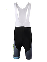 cheap -Cycling Padded Shorts Men's Bike Bib Shorts Bottoms Bike Wear Quick Dry Wearable Breathability Letter & Number Mountain Cycling Road