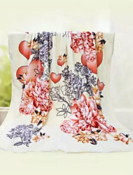 cheap -Super Soft,Printed Creative 100% Polyester Blankets