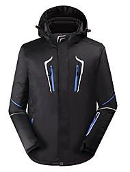 cheap -Men's Ski Jacket Warm Waterproof Windproof Wearable Breathability Ski / Snowboard Cotton Linen